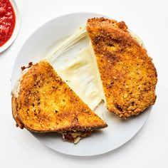Mozzarella in Carrozza Is the Perfect Combination of Crunchy, Gooey, and Saucy | Bon Appétit Mozzarella, Traditional Italian Dishes, Italian Cheese, Italian Foods, Italian Recipes, Toast Sandwich, Grilled Cheese Recipes, Wrap Sandwiches, Pizza