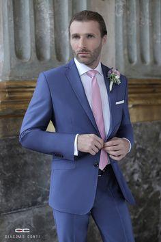 Stylizacja ślubna od Giacomo Conti: Fashion Suits, Mens Fashion, Mens Suits, Suit Jacket, Breast, Jackets, Stuff To Buy, Moda Masculina, Dress Suits For Men