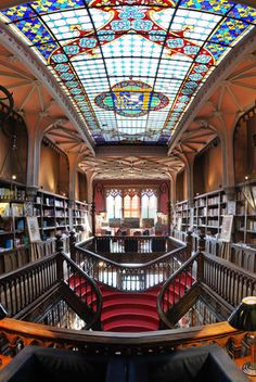 10 Of The World's Most Beautiful Bookstores. Breathtaking, beautiful and filled with books, what's not to love about these places?