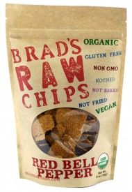 """These are some of my absolute favorites. These are not veggie """"potato"""" chips, these are healthy, raw, dehydrated vegetables that are crispy enough to be called a chip. They are seasoned with a variety of herbs and spices like garlic. They are organic and super healthy. My absolute favorites are the Kale Vampire Killer (kale with garlic), the Red Bell Pepper Chips and the Sweet Potato Chips."""