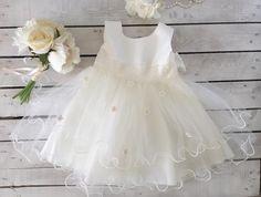 [Little Girl Dress], [Baby Baptism Dress] [Flower Girl Dress][Little Girl Dress][Baby Dress] - Purdy Gurly