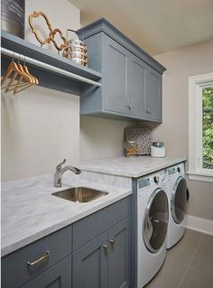 """Outstanding """"laundry room storage diy shelves"""" info is offered on our website. Read more and you will not be sorry you did. Laundry Room Sink, Basement Laundry, Small Laundry Rooms, Laundry Room Organization, Laundry Storage, Laundry Room Design, Closet Storage, Storage Shelves, Small Shelves"""