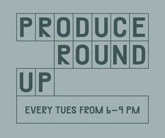 Provo Produce Roundup