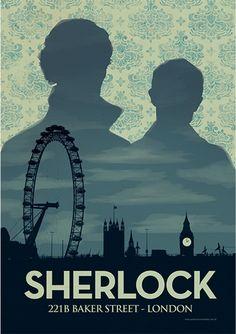 sherlock illustration + Doctor Who ~ sherlock funny Sherlock Holmes Bbc, Sherlock Bbc Funny, Sherlock Poster, Sherlock Season, Sherlock Fandom, Sherlock Quotes, Sherlock John, Sherlock Moriarty, Breaking Bad