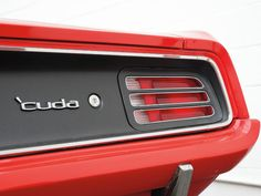 plymouth barracuda -- had one of these beauties in '73.  Gosh I still wish I had that car.