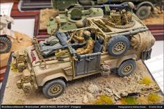 Land Rover Defender Wolf 1/35 Scale Model