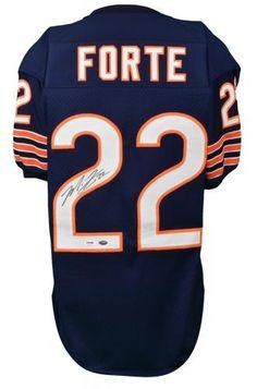 Matt Forte Autographed Custom Bears Jersey - PSA - Sports Memorabilia #MattForte #ChicagoBears #SportsMemorabilia