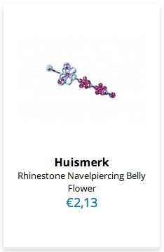 Rhinestone Navelpiercing Belly Flower www.ovstore.nl/nl/rhinestone-navelpiercing-belly-flower.html