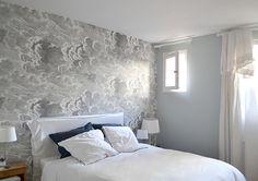 Wallpaper Nuvolette 97/2007 by Cole ans Son A Beauty Stylist's 300-Year-Old Maison in Paris | Design*Sponge
