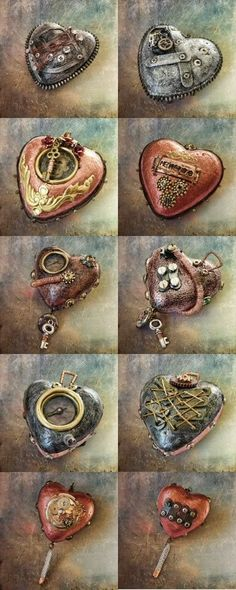 speak without my voice: Victorian Heart Relics...