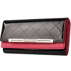 Cheap female purse, Buy Quality brand designer purse directly from China brand purse Suppliers: New 2016 Leather Women Wallet Fashion Brand Cowhide Wallet Long Design Clutch Female Purse With Card Holder Best Wallet, Long Wallet, Cow Leather, Cowhide Leather, Patent Leather, Cool Gifts For Women, Best Purses, Branded Wallets, Money Clip Wallet