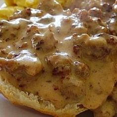 Sausage Gravy (for Biscuits and Gravy) on BigOven: Wonderful version of this comfort-food favorite!
