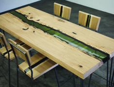 GROOVE TABLE- PROTEK®+DESIGN