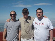 Luke, David & Peter (3 out of 4 of my favorite men)
