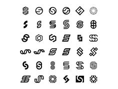 S+create/build s simple idea graphic design minimal logo lettering typography letter S Logo Design, Sports Graphic Design, Lettering Design, Minimal Logo Design, S Letter Logo, Logo Minimalista, Logo Process, Personal Logo, Monogram Logo