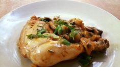 Pui la tigaie cu ciuperci Chicken, Meat, Food, Essen, Meals, Yemek, Eten, Cubs