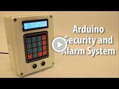 Arduino Security and Alarm System Project #HackerSpaceTech #arduino #arduinoclass #tutorials  www.arduinoclass.com www.hackerspacetech.com