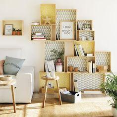 3 muebles hechos con cajas