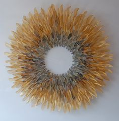 michelle mckinney ultra fine woven metal, hand cut works of art