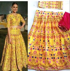 Checkout this yellow printed admit rao lehenga choli  Product Info :  Top : Banglori Lehenga : Banglori Dupatta : Net  Price : 1500 INR Only ! #Booknow  CASH ON DELIVERY Available In India ! World Wide Shipping !  For orders / enquiry  WhatsApp @ 91-9054562754 Or Inbox Us  Worldwide Shipping !  #SHOPNOW  #fashion #lookbook #outfitsociety #fashiongram #dress #model #urbanfashion #luxury #fashionstudy #famous #style #fashionkiller #swag #classy #cute #shopping #glam #me #popular…