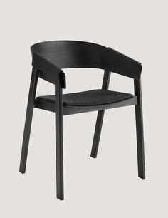 COVER chair, designed by Thomas Bentzen, is a modern reinterpretation of the classic wooden armchair. In a clever design choice, thin form pressed plywood covers are given the dual role of working as comfortable armrests, while at the same time ensuring that the chair holds together. COVER's contemporary design gives it a strong personality and with a frame produced from solid beech wood it is extremely robust and hardwearing. The chair is also very versatile, at home at the dining table…