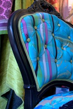 Re Purposed Chair Vintage Cameo Chair