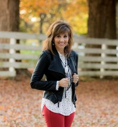 Fashion blogger, Cyndi Spivey, shares how to mix feminine and edgy pieces.