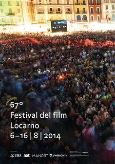 Poster F4 of the 67° Festival del Film Locarno