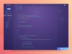 Exploration - Code Editor
