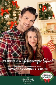 Christmas Scavenger Hunt - a Hallmark Channel Countdown to Christmas Movie starring Kim Shaw and Kevin McGarry! : Christmas Scavenger Hunt - a Hallmark Channel Countdown to Christmas Movie starring Kim Shaw and Kevin McGarry! Hallmark Channel, Films Hallmark, Hallmark Holiday Movies, Family Christmas Movies, Hallmark Holidays, Scavenger Hunt Movie, Christmas Scavenger Hunt, Lifetime Movies, Romance Movies