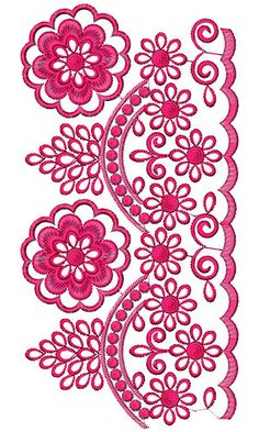 African Kaftan Lace Embroidery Design 15169