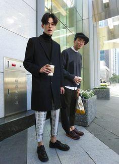 idées pour la mode Korean Street Men Seoul - New Sites Asian Men Fashion, Seoul Fashion, Korean Street Fashion, Harajuku Fashion, Boy Fashion, Trendy Fashion, Mens Fashion, Trendy Style, Fashion Outfits