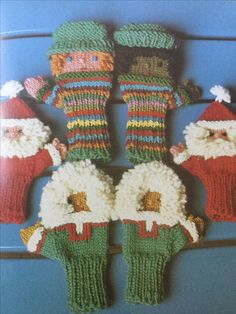 Children's mittens from the 80's
