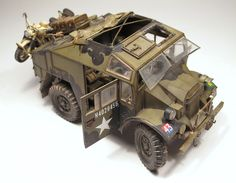 A cool combination of two items to make a great plastic model diorama @ https://www.hobbylinc.com/tamiya-british-25-pounder-gun:quad-plastic-model-military-vehicle-kit-1:35-scale-35044 @ https://www.hobbylinc.com/htm/lnr/lnr3509.htm