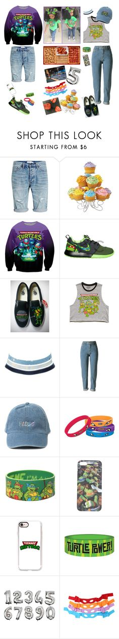 """Going to a Birthday Party"" by bears2026 ❤ liked on Polyvore featuring Topman, Wilton Armetale, Vans, Forever 21, Charlotte Russe, Zone, Hot Topic, Wet Seal, Casetify and Nickelodeon"