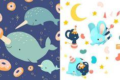 As ilustrações de animais fofos de Elda The