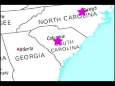 The 50 States and Capitals song video