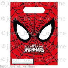 Marvel #ultimate #spiderman party loot bags boys job lot #plastic gift bags 2016,  View more on the LINK: http://www.zeppy.io/product/gb/2/112045027563/