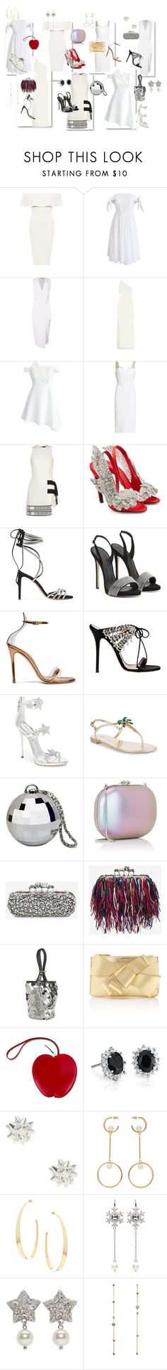 """Happy New Year"" by kety-de-jesus on Polyvore featuring moda, WearAll, Chicwish, Boohoo, Michelle Mason, Victoria Beckham, David Koma, Balenciaga, Alexandre Vauthier e Gianvito Rossi"