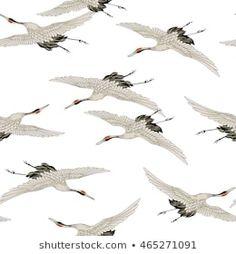 zwaluw vogel lijn set stockvector (rechtenvrij) 463212896 Japanese Style, Crane, Abstract, Artwork, Animals, Summary, Japan Style, Work Of Art, Animales