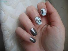 Moonstone inspired nails