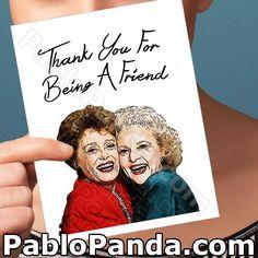Card For Boyfriend Golden Girls Rose Birthdays Card Dad Funny Valentine, Valentine Day Cards, Holiday Cards, Valentines, 25th Birthday Gifts, Funny Birthday Cards, Card Birthday, Funny Greeting Cards, Funny Cards