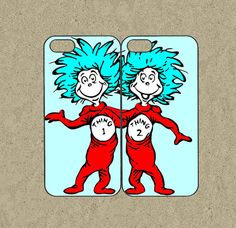 iphone 5s case,iphone 5s cases,iphone 5c case,cool iphone 5c case,cute iphone 5s case,iphone 5 case,5s case--Thing 1 and Thing 2,in plastic.by Ministyle360, $28.99