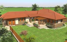 37 Ideas For Home Plans Rustic Bedrooms Indian Home Design, Bungalow Haus Design, Modern House Design, Villa Design, Style At Home, Hut House, Modern Farmhouse Exterior, Bedroom House Plans, Home Design Plans