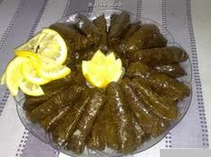 Of famous Syrian food the grape leaves, It is delicious and is Featuring in acidity.