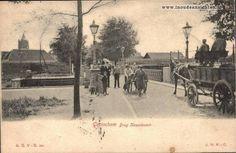 Ansichtkaart Brug bij Kanselpoort, Gorinchem