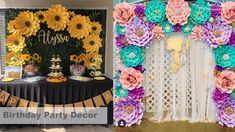 Giant Paper Flower Templates | 3D Large Paper Flower Stencil Pattern | DIY Handmade Paper Flowers | Paper Flower Decor and Backdrop for Weddings and Events Paper Flower Decor, Large Paper Flowers, Flower Decorations, Paper Flower Tutorial, Flower Template, Birthday Party Decorations, Stencil, Backdrops, Events