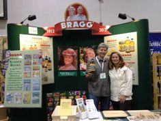 In the Bragg Booth for the Expo-West