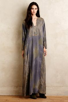 Antonia Pieced Maxi Dress #anthropologie