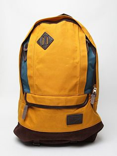 Masterpiece - Effect Back Pack:  One of my favourite accessory brands, Masterpiece can always be relied on for attention to detail and bold colour combinations - Japanese design at its best, although I am bored of those diamond leather patches...